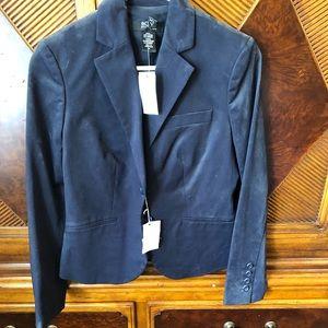 Victoria's Secret suit jacket NWT navy sz 4